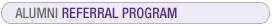 Alumni Referral Program